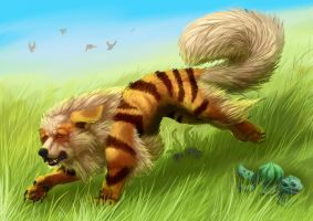 Arcanine by Ruth-Tay