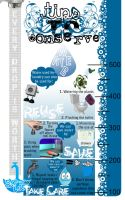 Water Conservation Poster by theautisticactress
