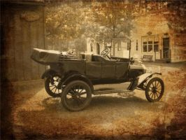 1916 model T ford by bad-jane