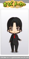 Billie Joe Armstrong chibi maker by scarymovie13