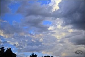 Painting in the sky by Dreikaz-Photos