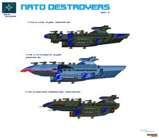 Nato Alliance Destroyers part 2 by Luckymarine577