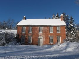 Old Brick House During the Winter 4 by TheGreatWiseAss