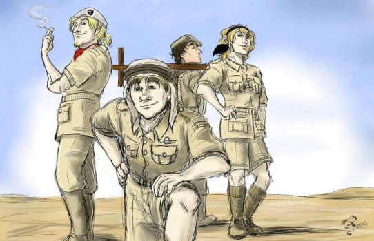 APH_Who Dares Wins by JapDrow