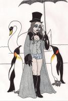 Batman Villainettes Penguin by 13foxywolf666