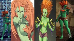 Poison as Blanka Female by salimano3