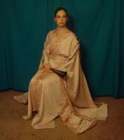 Copper Zari Kimono 7 by HiddenYume-stock