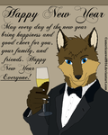 Happy New Year from AmericanWolf016 by AmericanWolf016