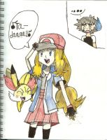 Serena- I'm a Pokemon Trainer! by Pikafan09