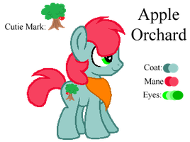 MLP:Apple Orchard Profile by kiananuva12