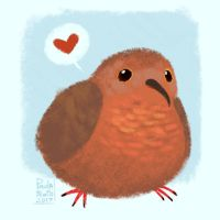 Moofy the Ground Pigeon by madeinCOLOUR