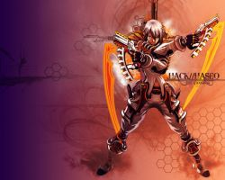 Haseo Wallpaper by kerokid