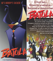 Batula by Steve T Seagle and Marco Cinello by dragonfire53511