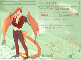 Cherrygrove City: Dante by C-enpai