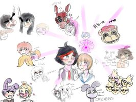 the most despair inducing incident feat. klk+fnaf by bachurie