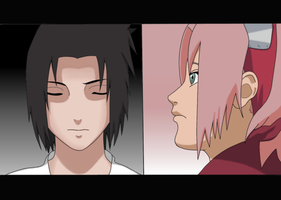 Sasusaku:Color by NarutoSecretHope