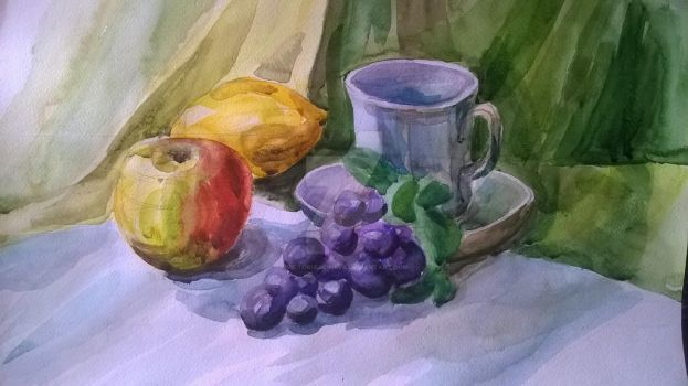 Academic still life 3 (first of the paint) by VictoriaGrineva