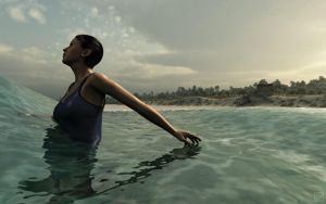 Bather by curious3d