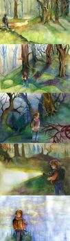 Ghost woods by The-girl-in-Mirkwood