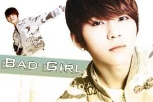 Junhyung Bad Girl by flyxtoxheaven