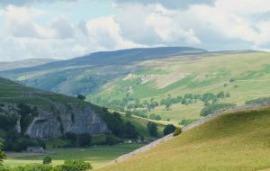 Yorkshire landscape - hills and valleys by ahappierlife