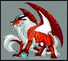 Foo/Dragon Creature Auction - SOLD by Artha-Demon