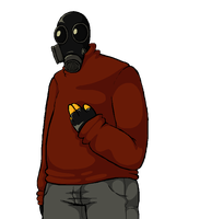 Casual Pyro by ThrowDownYourHat