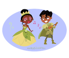 Tiana and her Prince by Nippy13