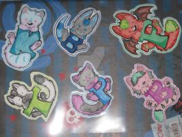 1.50 mini badges by FurryFursuitMaker