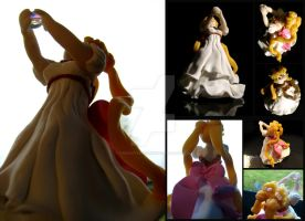 Princess Serenity Figurine by thedustyphoenix