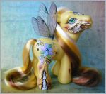 MLP My Little Pony Zombie Honeycomb by eponyart