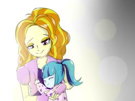 For the sister I never have a chance to meet again by AmazingPuffhair