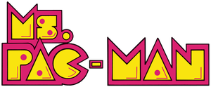 Ms. Pac-Man logo (US) by RingoStarr39