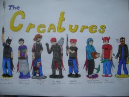 The Creatures! by Roflness123