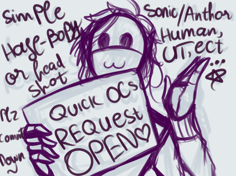 .:SIMPLE REQUEST:. {OPEN} by LonelyNightSheep