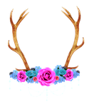 Antler Crown by Ask-TheSprite