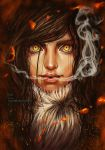 After breathing fire by mikovera