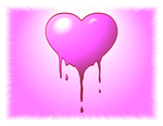 Bleeding Candy Heart by ArtmasterRich