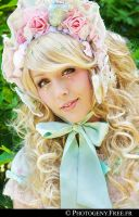 Rose Toilette Girl by photogeny-cosplay