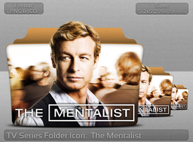 The Mentalist TV Serie Folder Icon by atty12