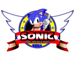 Sonic 1 Title Screen by Belgarion115