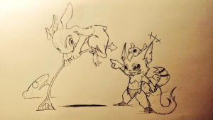 Fizz and Gnar by 9Air