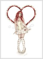 Heart Doll by Zindy