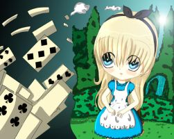 Alice in Wonderland by riotousworld