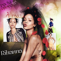 Rihanna PNGPACK## byisra by AnqeelQueen1