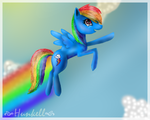 Rainbow Dash by Hunkell