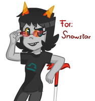 For: Snowy by goshhhh
