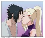 SASUINO KISS - REQUEST by QUEEN-INCHI