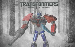 Transformers: Return To Cybertron First Poster by iNasko