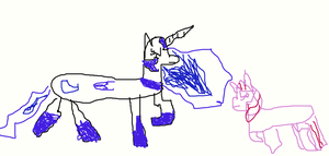 Untitled Drawing by nightmaremoon123234